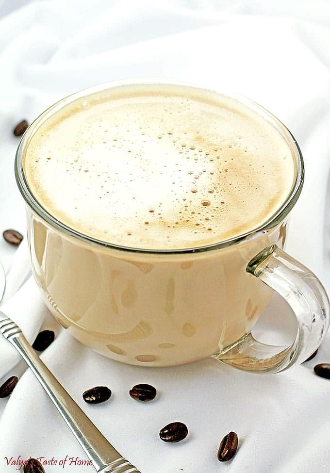 Honey Latte Recipe My Cafe