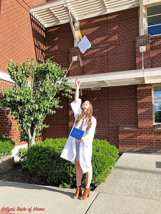 Angela's High School Graduation – Class of 2018, class2018, congrats grads, daughers high school graduations, national honor society student