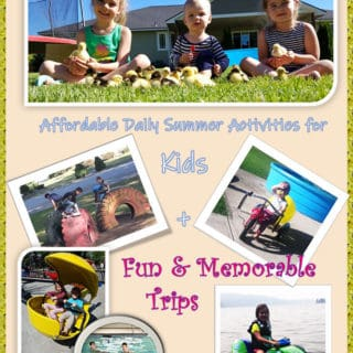 Affordable Daily Summer Activates for Kids + Entertaining Trips