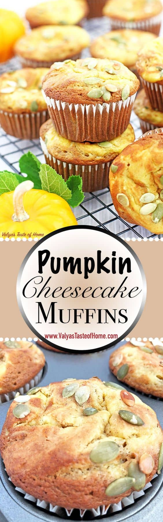 cinnamon, clean eating, fall baking, home eggs, homemade pumpkin puree, kid friendly, organic flour, organic sugar, pumpkin cheesecake muffins, Pumpkin Cheesecake Muffins (Video), pumpkin muffins, pumpkin pie spice, video ricipe