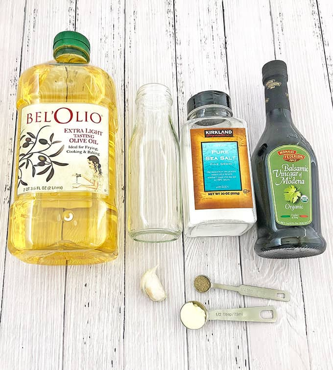 This easy and quick recipe of Homemade Balsamic Vinaigrette Dressing is so simple to make and way healthier than store bought version. You can easily customize it to your liking by adding more or less salt, pepper, and adding honey or maple syrup to the dressing.