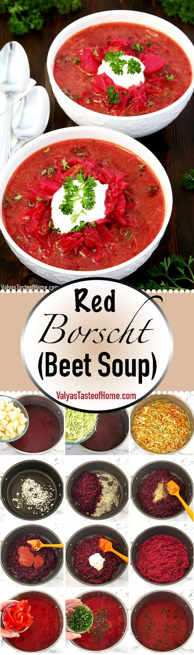 What are some of the foods that come to mind if you had to name a few Ukrainian meals quickly? I bet Red Borscht Recipe would pop into your mind. That's because it's one of the top iconic foods of Eastern and Central Europe.