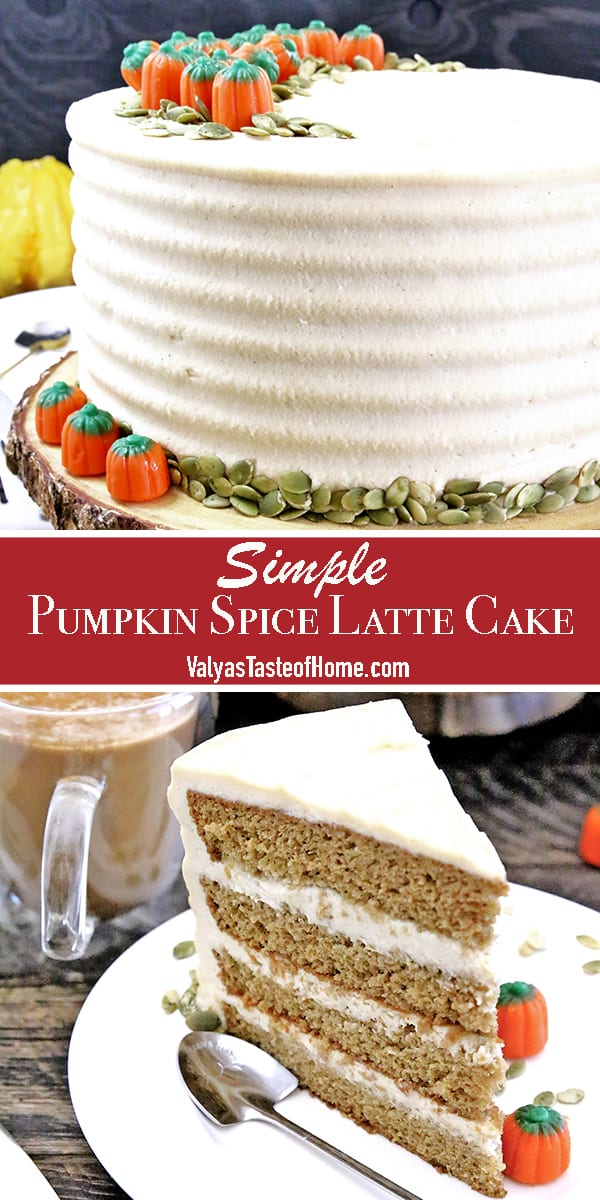 It is coffee. It is pumpkin. It is cake. All in one neat and delicious package! The sponge cake is tender and pillowy soft. Light, airy, moist, bursting with all the cravealbe Fall flavors: creamy pumpkin spice and coffee.