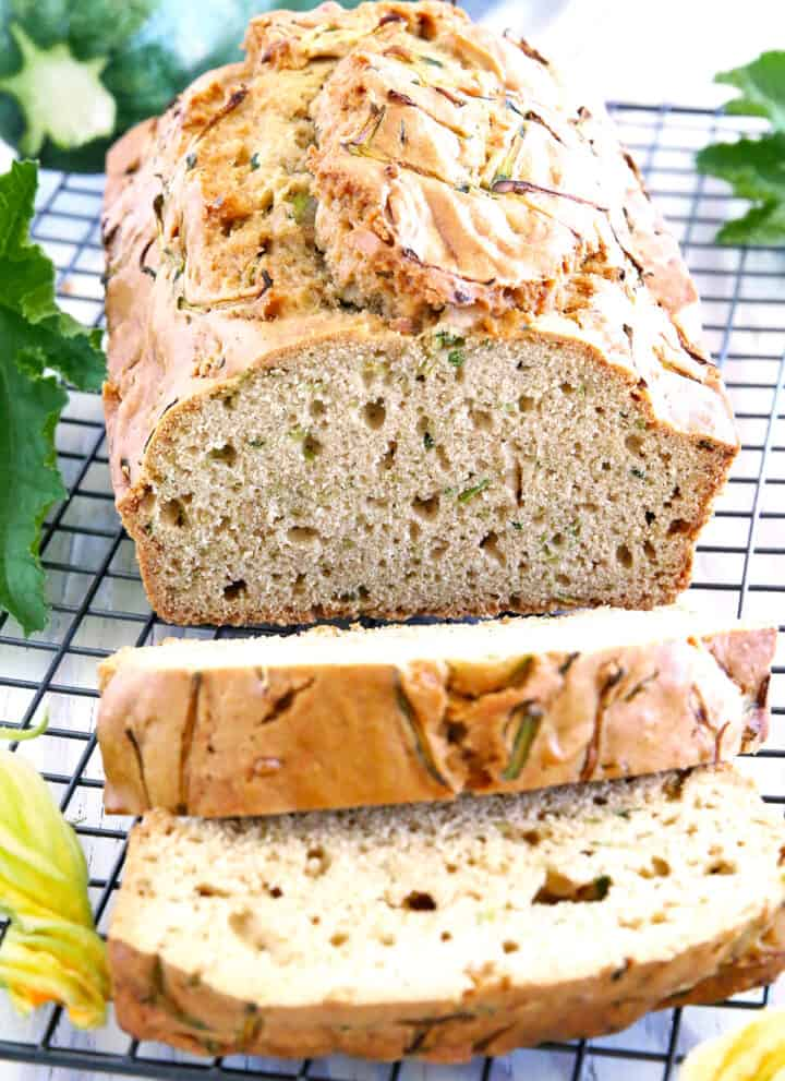 Now all of our family think this Valya's Best Zucchini Bread recipe is truly the best and moistest zucchini bread on earth! We grow zucchini in the garden every year and kids make this bread at least twice a week during zucchini season.